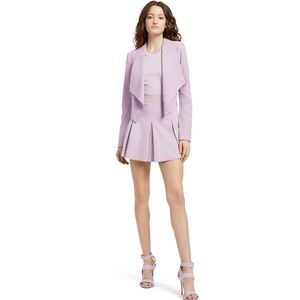 Alice + Olivia Lavender suede jacket with tags!!